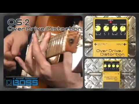 Boss OS-2 Overdrive/Distortion Pedal - Nevada Music UK