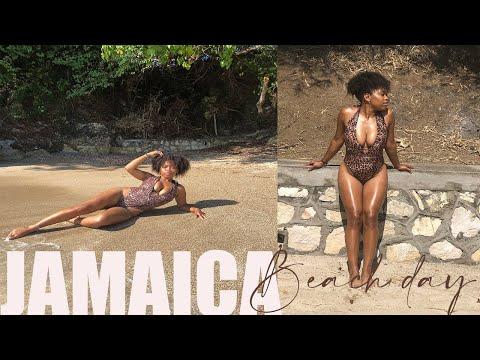 JAMAICA VLOG Beach Day GIRLS TRIP | Kingston To St. Thomas
