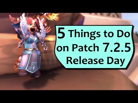 7.2.5 Patch Day! 5 Things to Do First