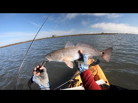 Clear Water = Spooked Redfish