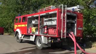 Großeinsatz der Feuerwehren im nördlichen Vorharz. - 07.07.2018