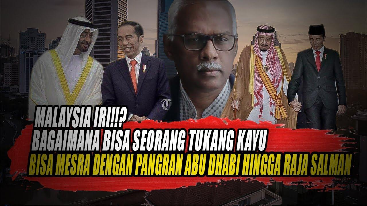 MALAYSIA TERKEJUT SEORANG TUKANG KAYU BISA AKRAB DENGAN PANGERAN ABU DHABI