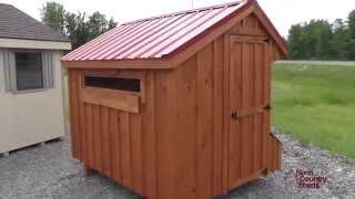 5' X 8' Chicken Coops | Ottawa Chicken Coops | Board And Batten Coops