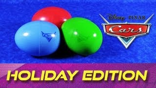 Cars 2 Holiday Edition Surprise Easter Eggs Diecast Cars Disney/Pixar 2007 Toys