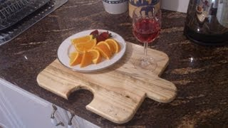 Build A Cheese/ Serving Board From Scrap Wood