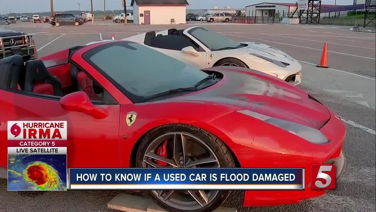 Harvey Puts Flood Damaged Cars In The Market - YouTube