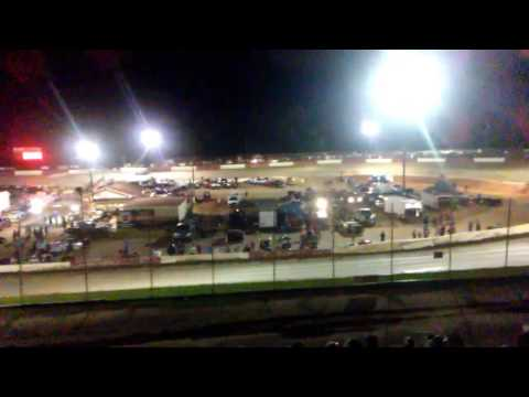 Mike Head Jr Memorial with the Southern All Stars at Senoia Raceway with Fireworks