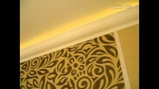 Светодиодная подсветка натяжного потолка(В этом видео представлена подсветка натяжного потолка с помощью светодиодной ленты Arlight LUX 3528-60-24V http://dreamsvet.r..., 2014-01-02T14:35:32.000Z)