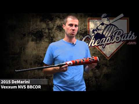 CheapBats.com 2015 Demarini Vexxum NVS BBCOR Baseball Bat
