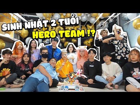 Sinh Nhật HERO TEAM 2 TUỔI I Mèo Simmy Và Kairon Troll Các Youtuber Cực Bựa 🎂😍
