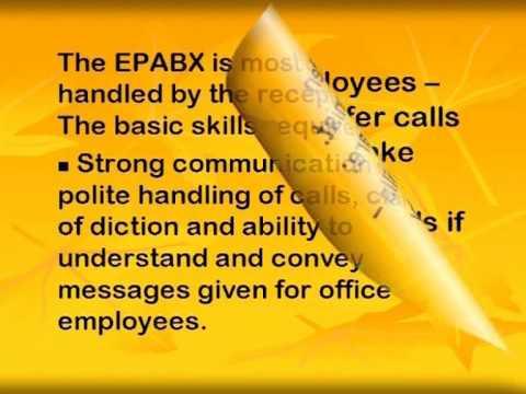 Office management: front desk and stationery management eng