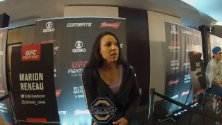 TvFight entrevista Marion Reneau  Media Day do UFC Fortaleza