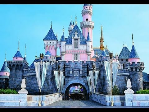 Disneyland) The Sleeping Beauty Castle - POV - YouTube