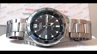 relgio casio mtd 1079zd 8avdf new look time relgios