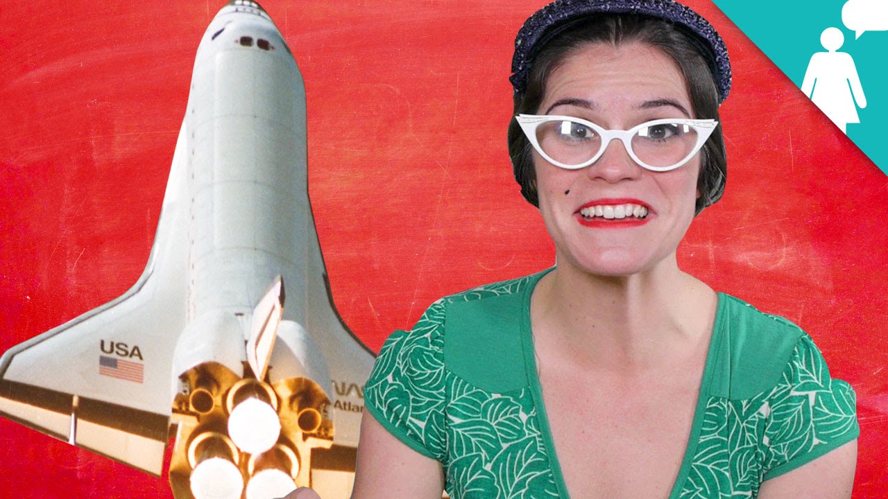 The First Female Rocket Scientist - Herstory 20 - YouTube