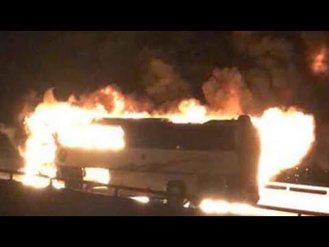 وفاة معتمرين في حادث اصطدام حافلتهم في المدينة المنورة  - نشر قبل 9 ساعة
