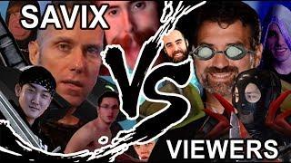 Savix vs Viewer Duel Wargames Retribution Paladin POV