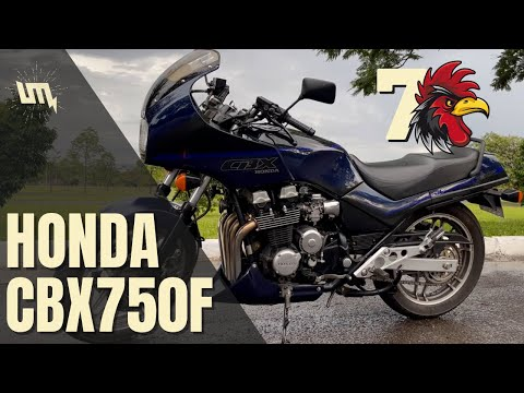 HONDA CBX 750 F: o ronco mais bonito do Brasil?