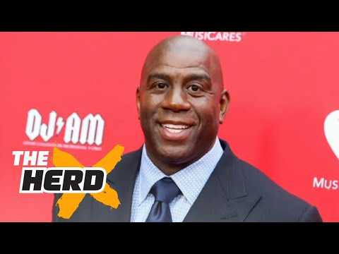 Magic Johnson named Lakers President of Basketball Operations - Colin Reacts | THE HERD