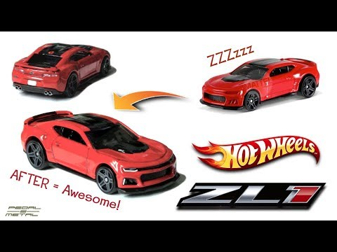 Review & Detailing Hot Wheels 2017 Camaro ZL1 | Fun DIY