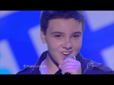 Daniel Henrique canta 'Farway' no The Voice Kids - Audições|1ª Temporada