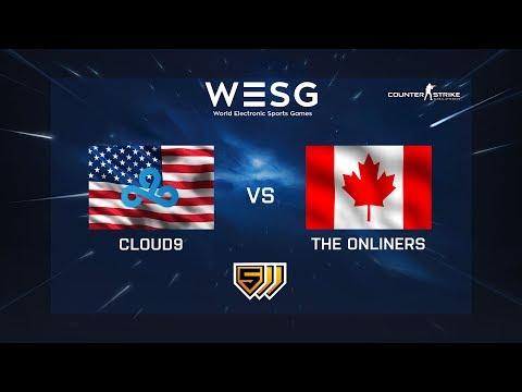 Cloud9 vs The Onliner - de_train - WESG 2018 - Group Stage