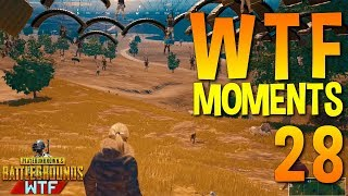 Gambar cover PUBG WTF Funny Moments Highlights Ep 28 (playerunknown's battlegrounds Plays)