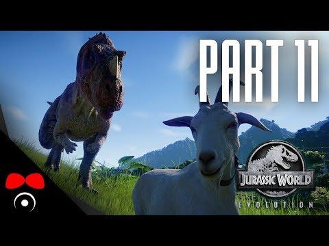 VŠICHNI DINOSAUŘI JSOU VENKU! | Jurassic World: Evolution #11