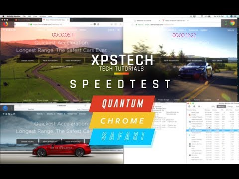 SPEED TEST: Is Quantum the Fastest Web Browser? [Firefox Quantum vs Google Chrome vs Safari]