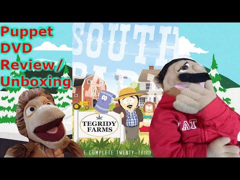South Park Season 23 DVD Review/Unboxing (Puppet Review)