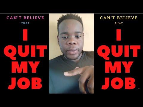 I QUIT MY JOB TRINIDAD 2019!!!!!!!