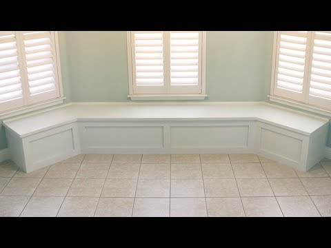 How to Build Bench Seating for Bay Window/Nook/Banquette