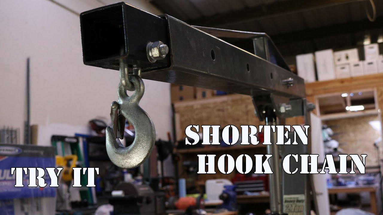 Harbor Freight 2 Ton Engine Hoist Modify Chain
