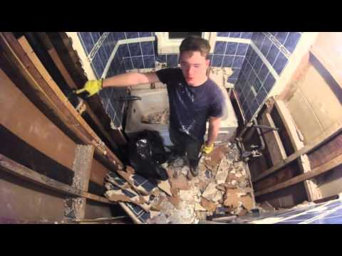 Bathroom Demolition in 10 minutes