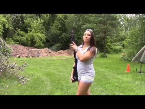 Shooting Mossberg 590 12 Gauge!!