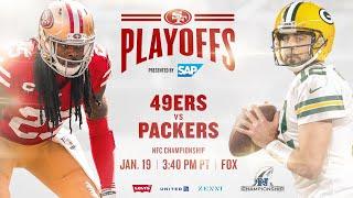 49ers Vs Packers NFC Championship Tralier HD