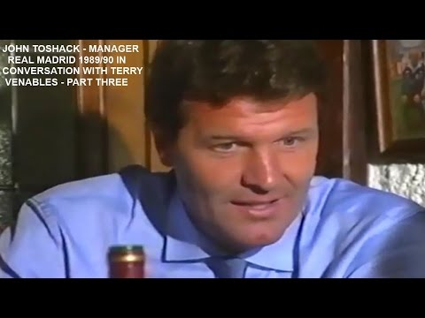 JOHN TOSHACK-REAL MADRID MANAGER-1989-90-INTERVIEW WITH TERRY VENABLES-MADRID-SPAIN-PART 3-FINAL PT
