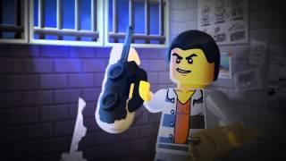 Prison Island Police: Balloon Blunder  - LEGO City - Mini Movie 2D