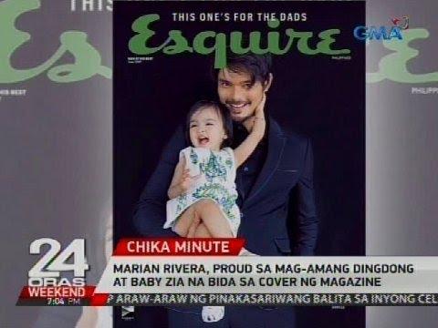 Marian Rivera, proud sa mag-amang Dingdong at Baby Zia na bida sa cover ng magazine