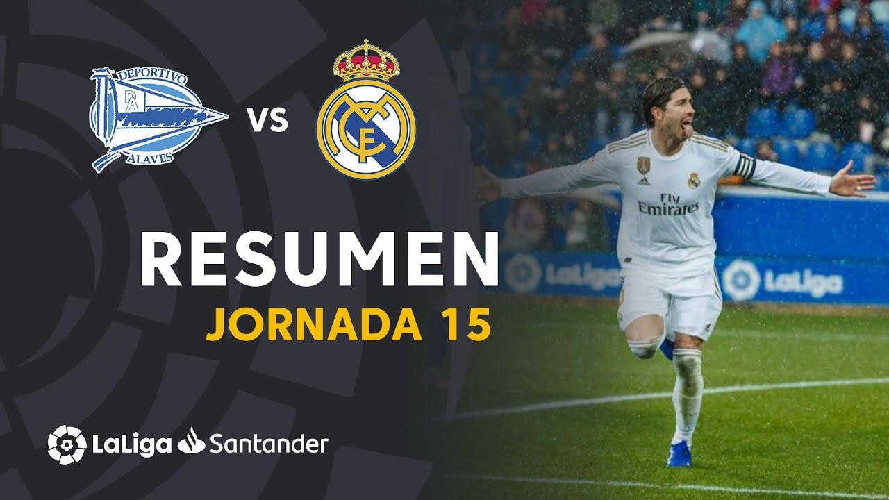 Алавес  1-2  Реал видео