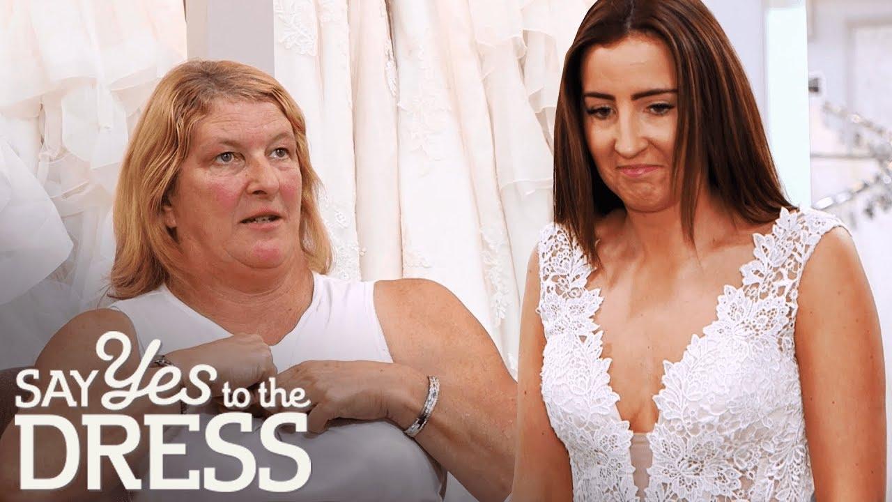Dress boobs out wedding Help! My