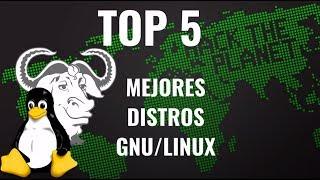 TOP 5 Mejores distribuciones Linux 2018 | TRBLTech