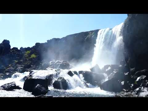 The Best Places in Iceland. 4K Travel video
