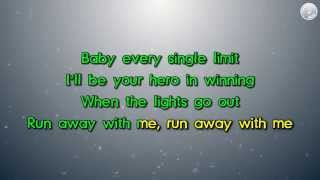Carly Rae Jepsen - Run Away With Me (Karaoke Version by Karaoke Hits)