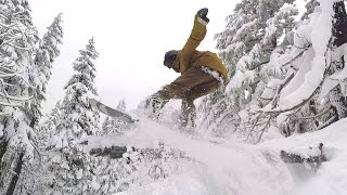 Natural Terrain Park Snowboarding - Mt Bachelor Edition