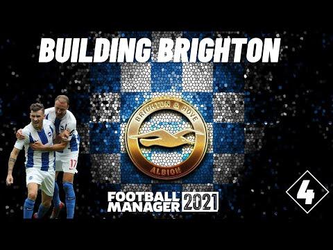 HUGE GAME! | BUILDING BRIGHTON | EPI 04 | Football Manager 2021 |