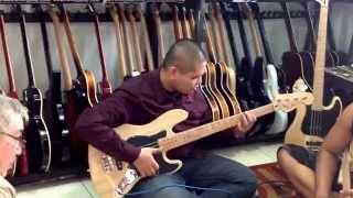 Main bass bisa jadi gendang dangdut ngakak