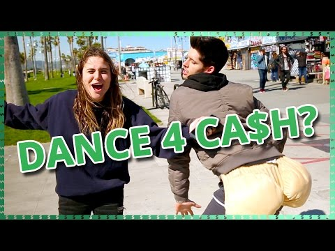 Dance For Cash Challenge  | Do It For The Dough w/ Ayydubs and Hunter March