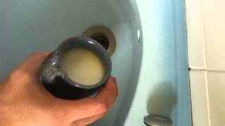 Déboucher son lavabo sans produit chimique - Astuce nettoyage bio