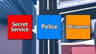 SECRET SERVICE MODE IN ROBLOX JAILBREAK